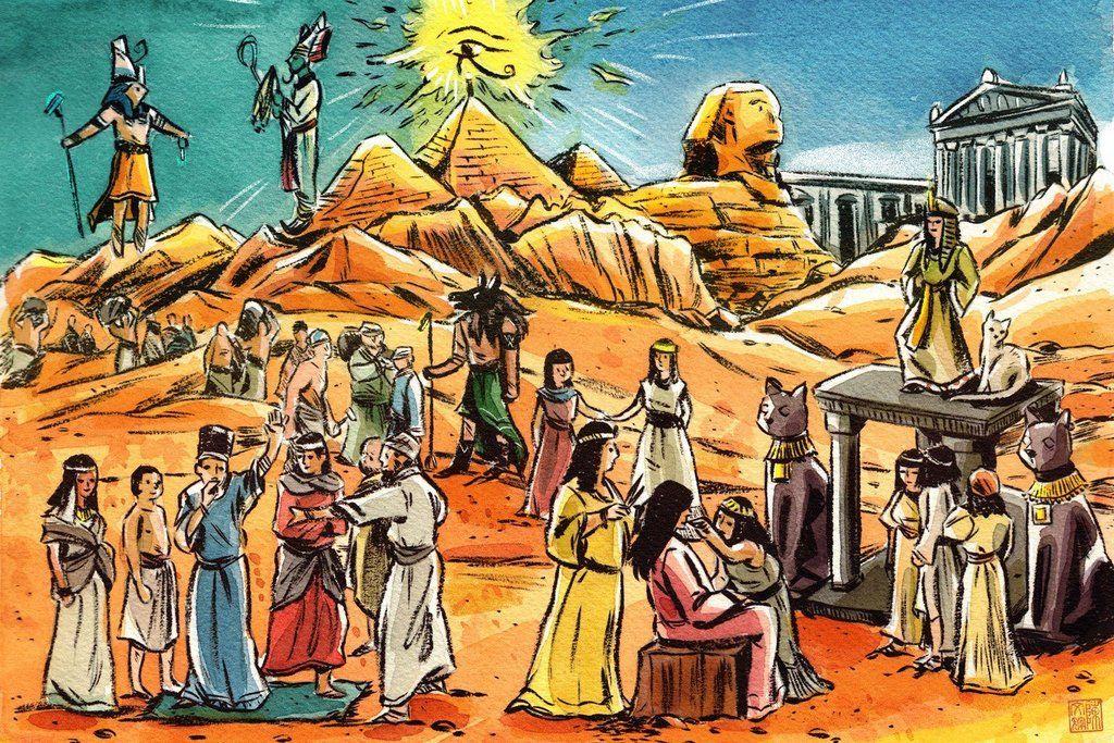 Antik Mısır Tarihi Kısaca