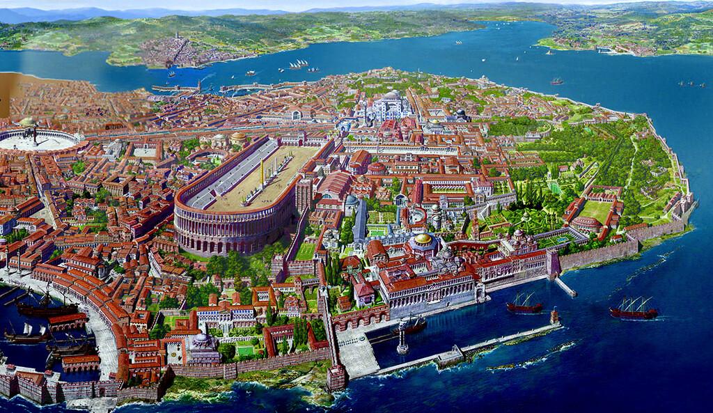 Bizans döneminde Sultanahmet