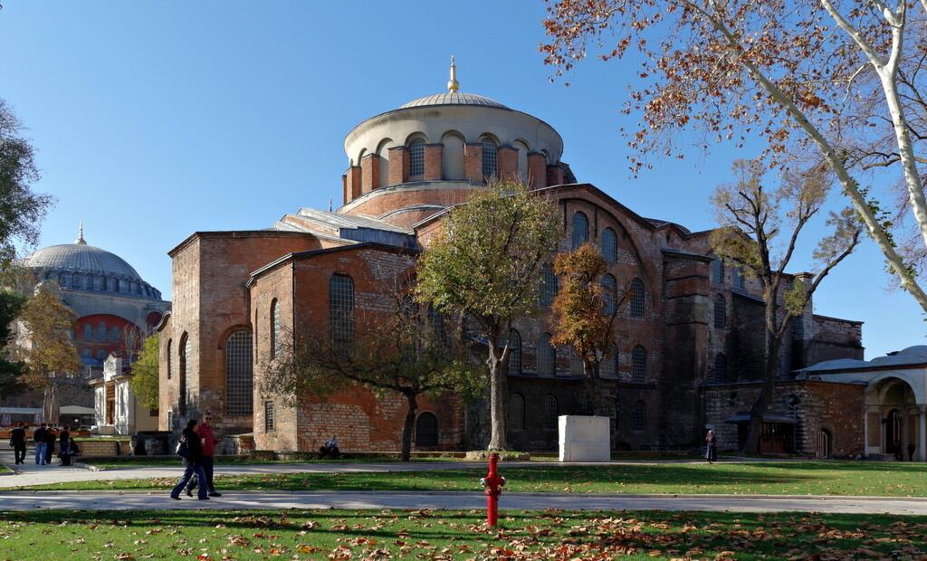 Aya İrini Kilisesi Tarihi