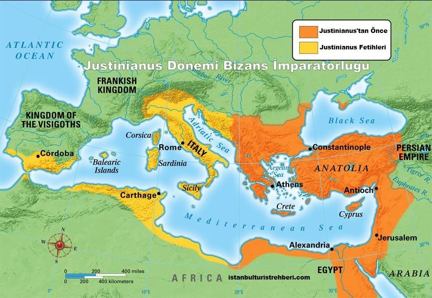 Justinianus Dönemi Bizans İmparatorluğu