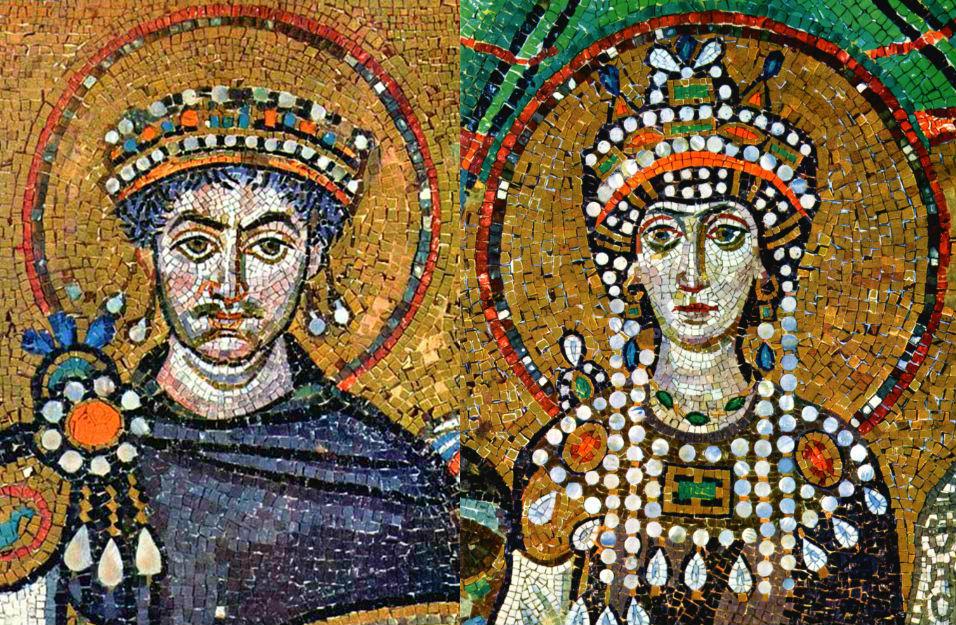 İmparator Justinianus ve Theodora