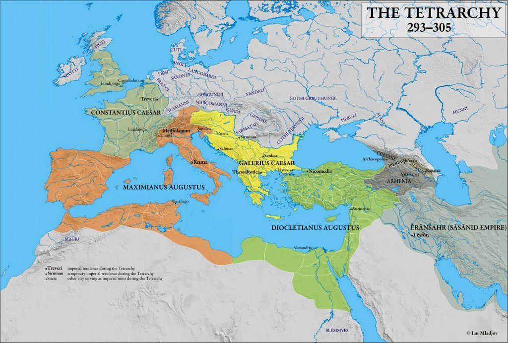 Roma'da Tetrarşi Dönemi
