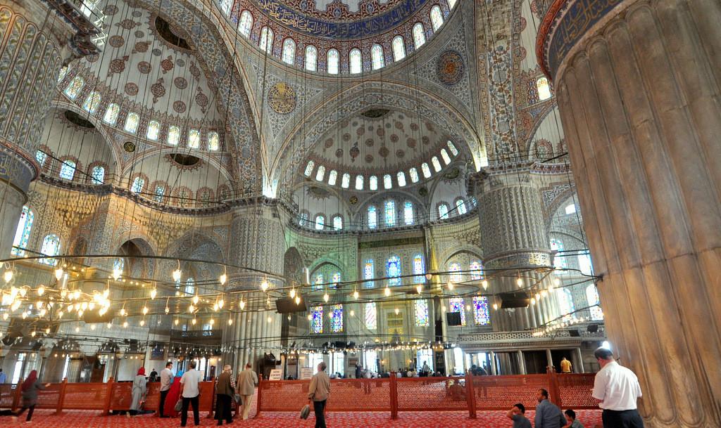 Sultanahmet Camii Ic Mekan