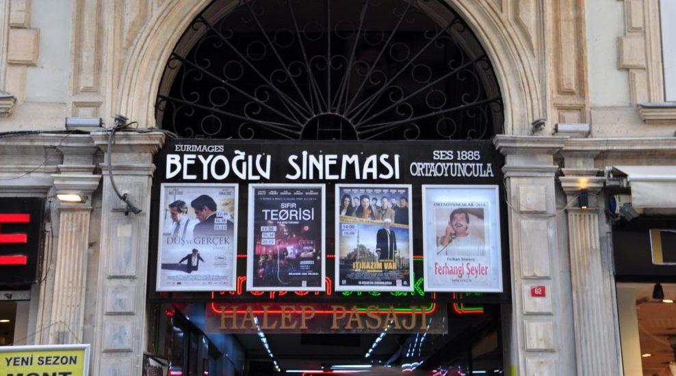 İstanbulun en iyi sinema salonlari