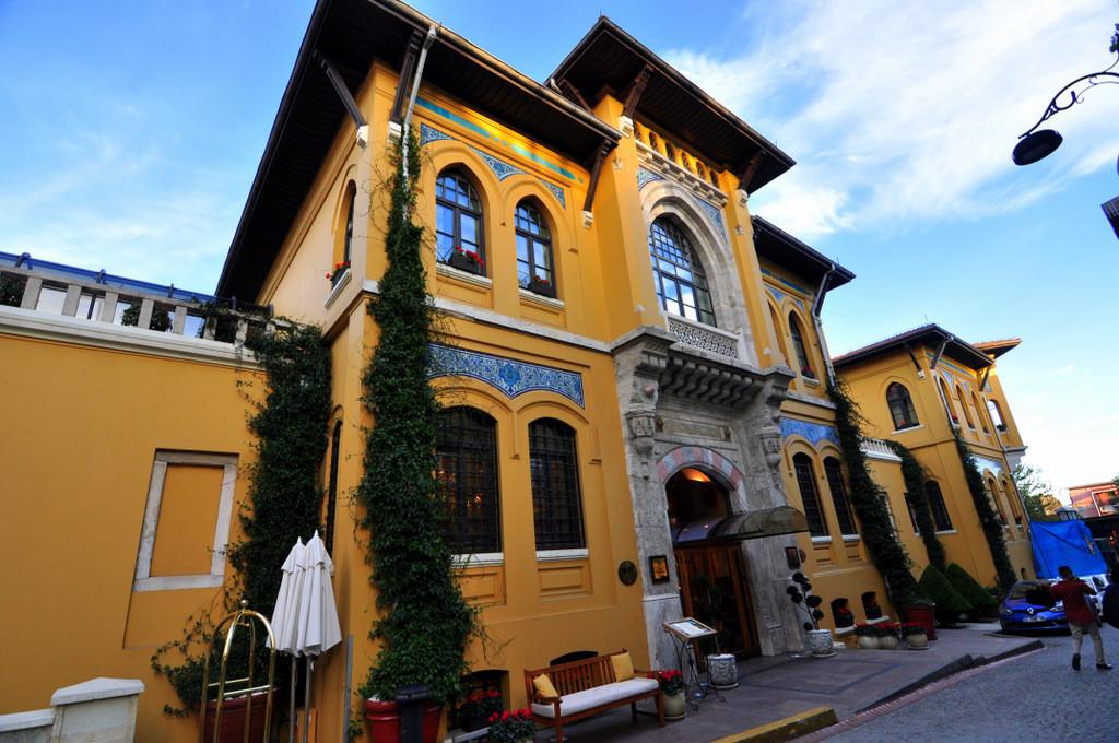 Sultanahmetin 5 yıldızlı butik otelleri