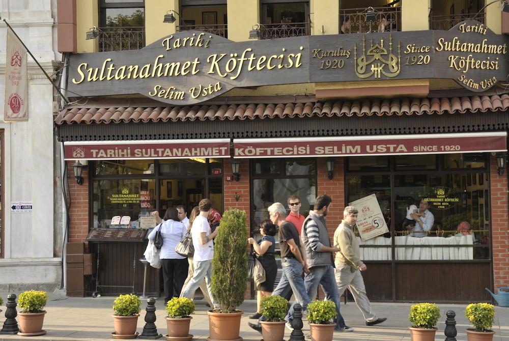 Sultanahmetteki Meşhur Restoranlar