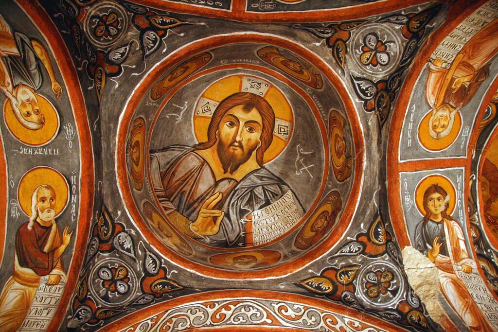 Tarihte Kapadokya Manastırları
