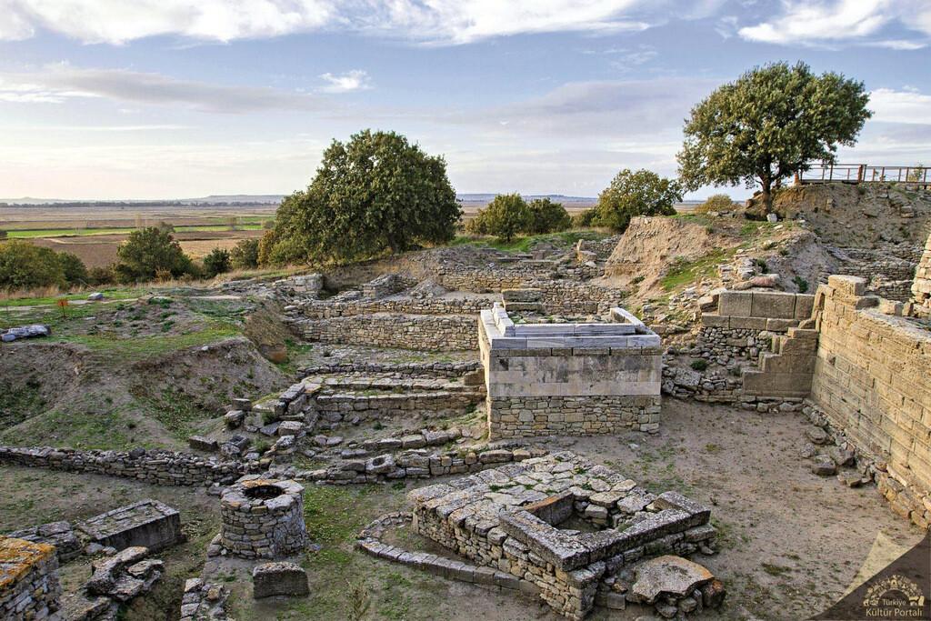 Truva Antik Kenti Ören Yeri
